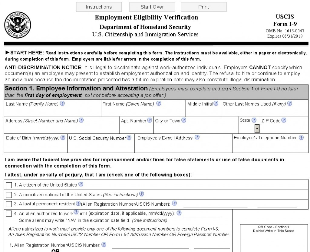New I 9 Form Connecticut s Lawyers For Employers